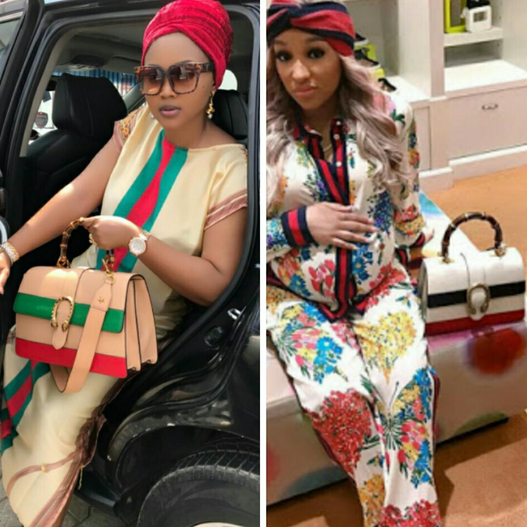 Image result for 'fake' gucci bag by mercy aigbe
