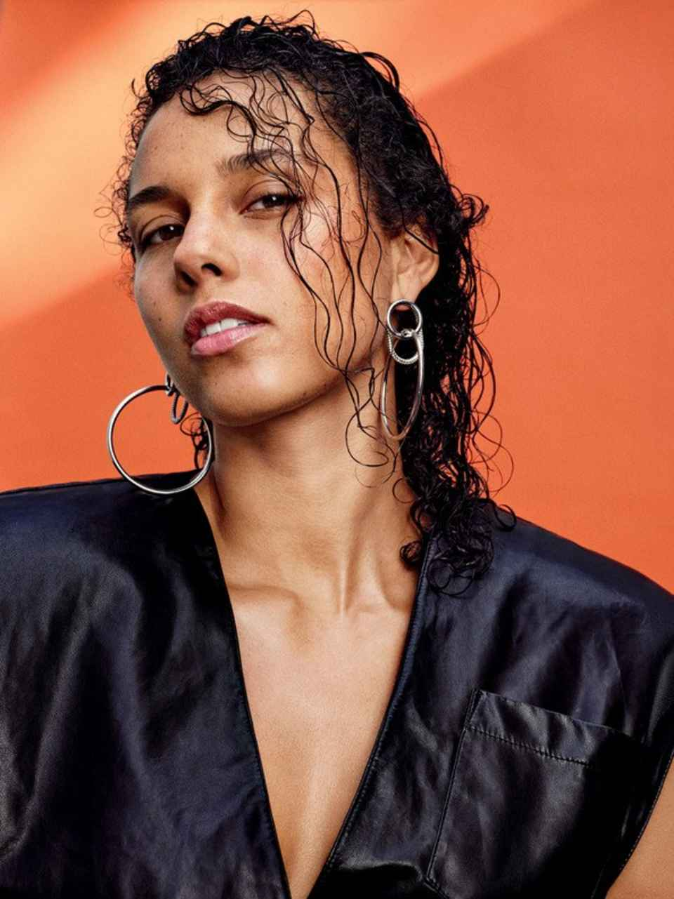 Alicia Keys on Allure's February 2017 cover