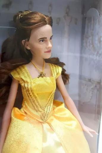 Beauty & The Beast Belle Doll Looks Like Justin Bieber