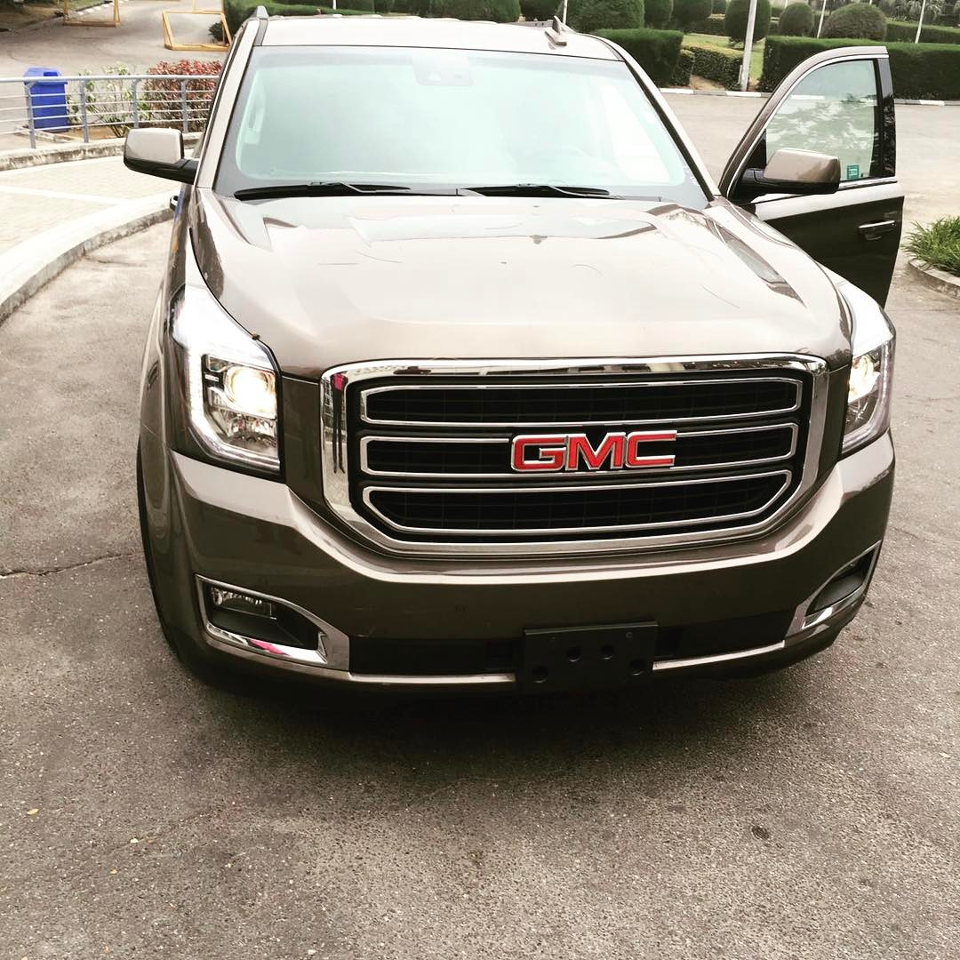 Tonto Dikeh's Husband Oladunni Churchill Buys Their Son Brand New 2017 GMC Truck As Early Birthday Gift