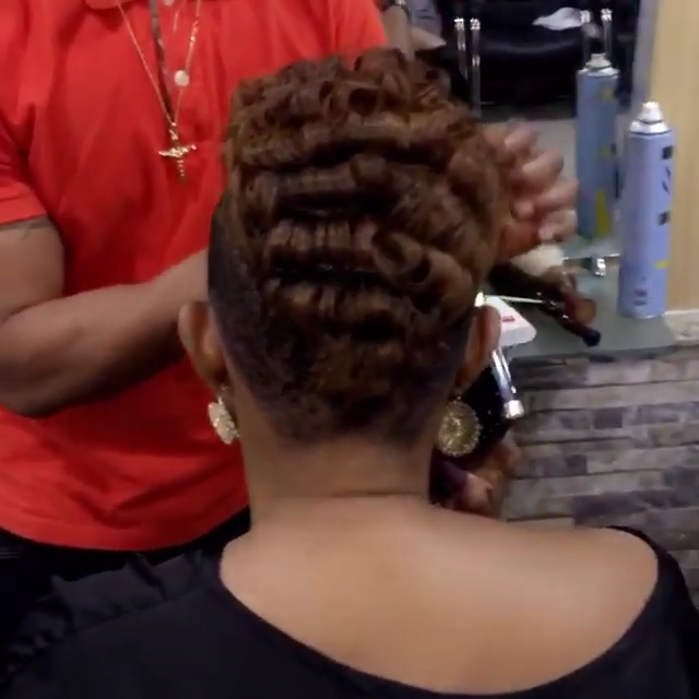 Mercy Aigbe Rocking Anita Baker Haircut