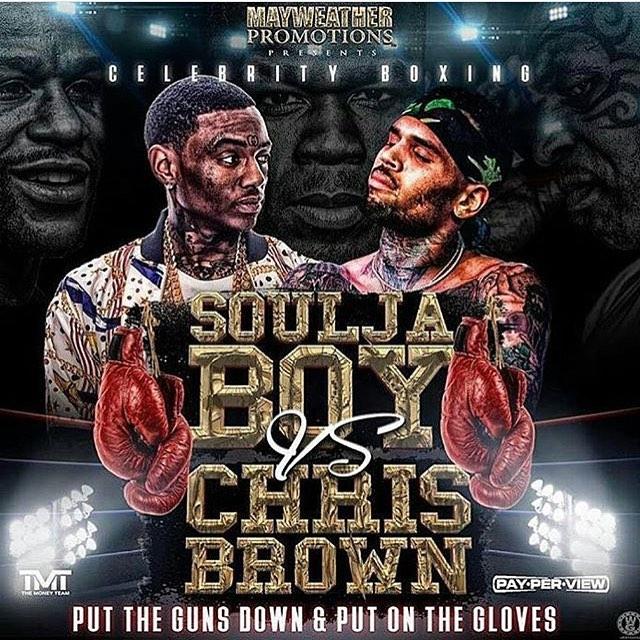 Chris Brown And Soulja Boy Feud