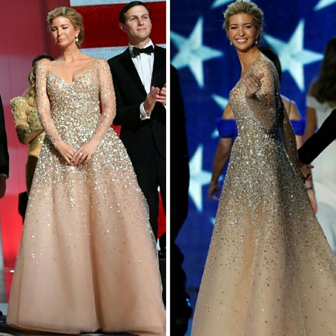 America\'s New Sweetheart Ivanka Trump Slays In Her Carolina Herrera ...