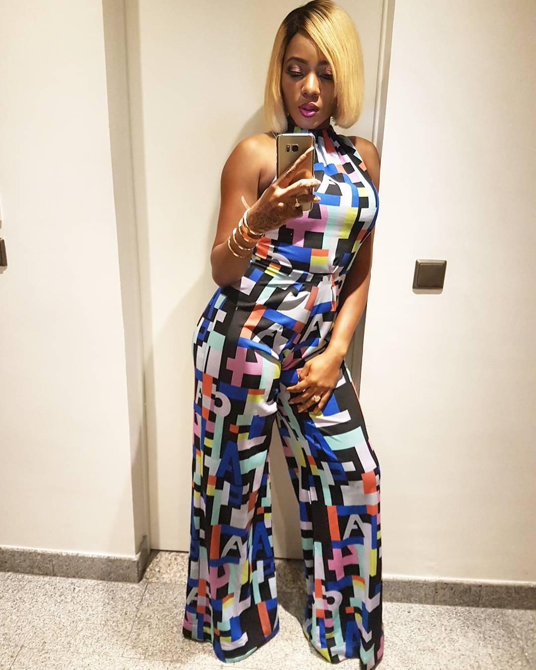 Basketmouth's Wife Elsie Okpocha Puts Her Curves On Display