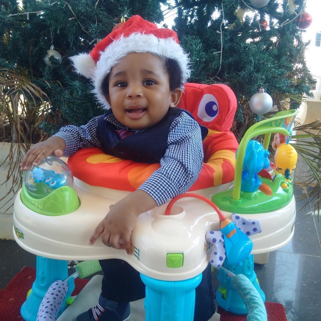 Kenneth Okonkwo Shares Cute Photo Of His Son