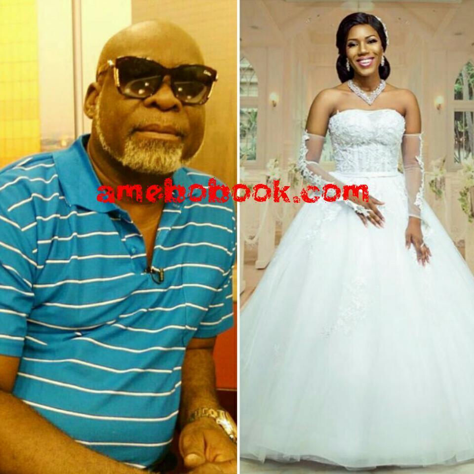 Victoria Lebene Mekpah: See How Gorgeous Ghanaian Actor Kofi Adjorlolo's Bride-to-be Looks In Wedding Gown