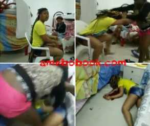 Edo Girls Rescued At Mediterranean Sea Engaged In Bloody Fight In Refuge Camp In Italy With One Beaten Into Coma