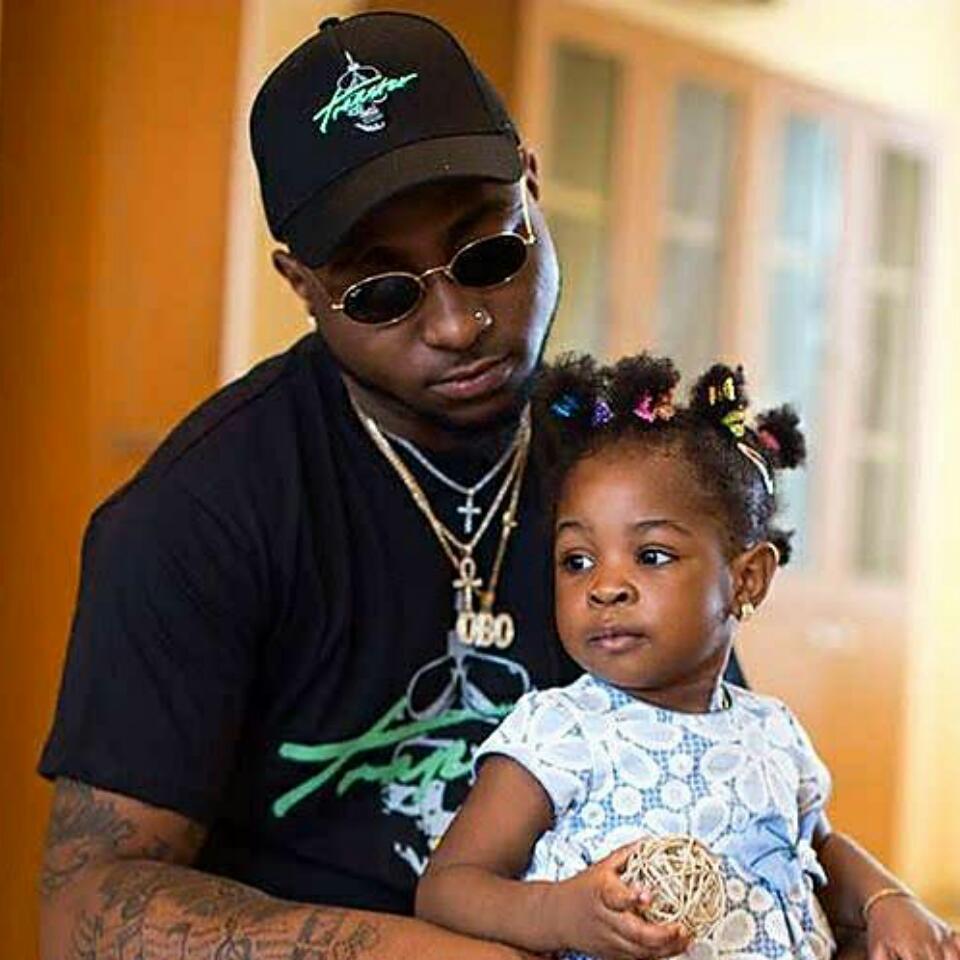 Davido And His Daughter Imade