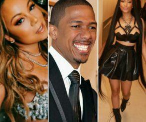 Nicki Minaj Throws Shade At Mariah Carey By Sliding Into Nick Cannon's DMs After Mariah Carey Diss