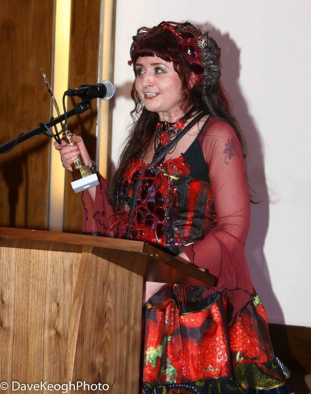 Fashion designer Claire Garvey