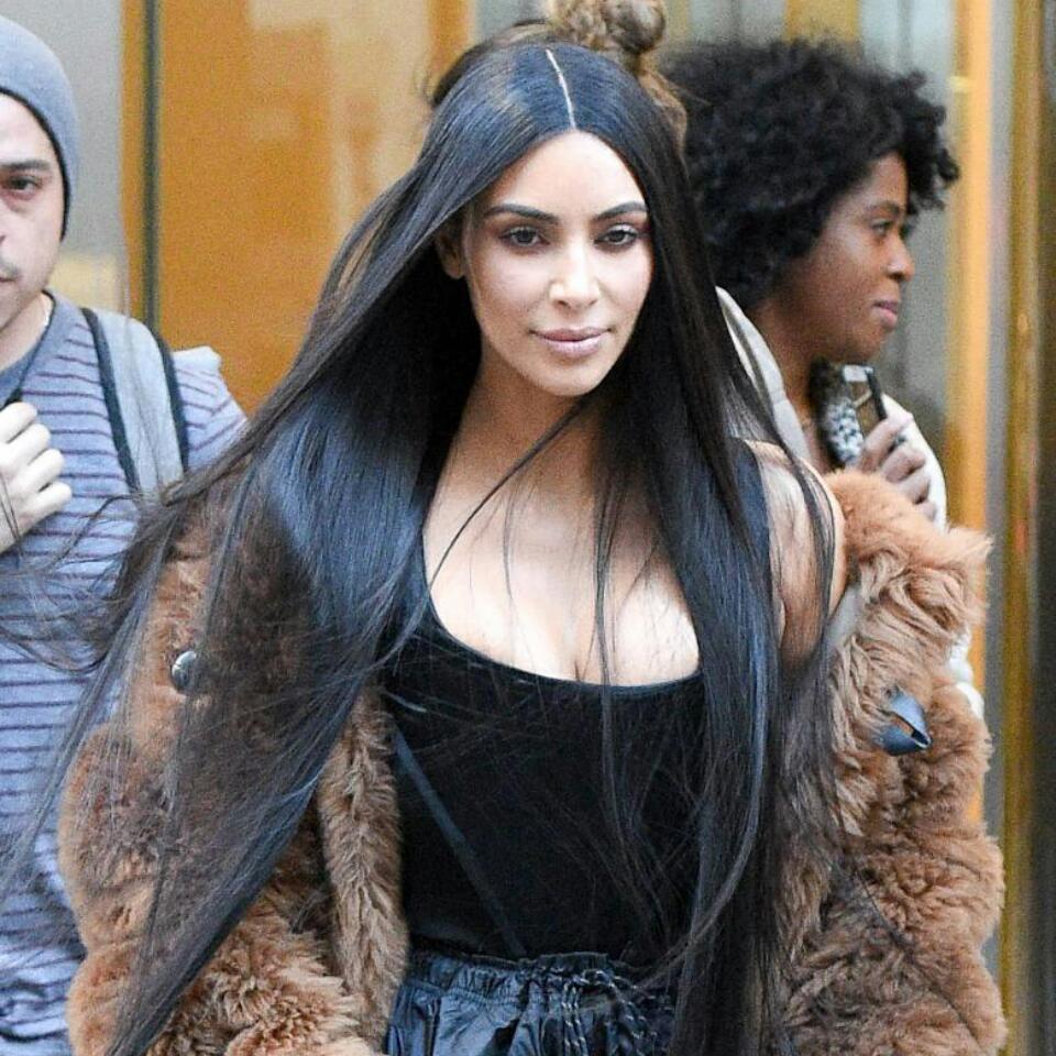 Kim Kardashian Shocks Followers By Putting Black Lipstick On Daughter North West