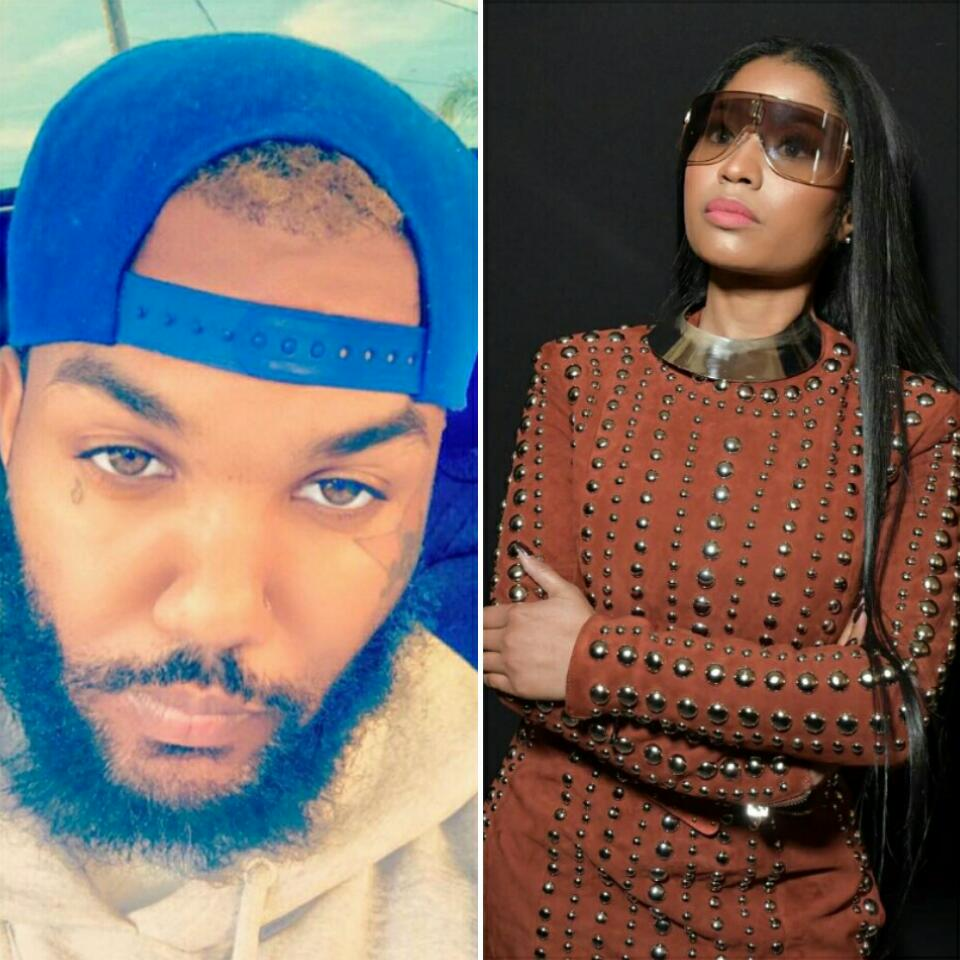 The Game Defended Nicki Minaj With A Bouqet Of Flowers
