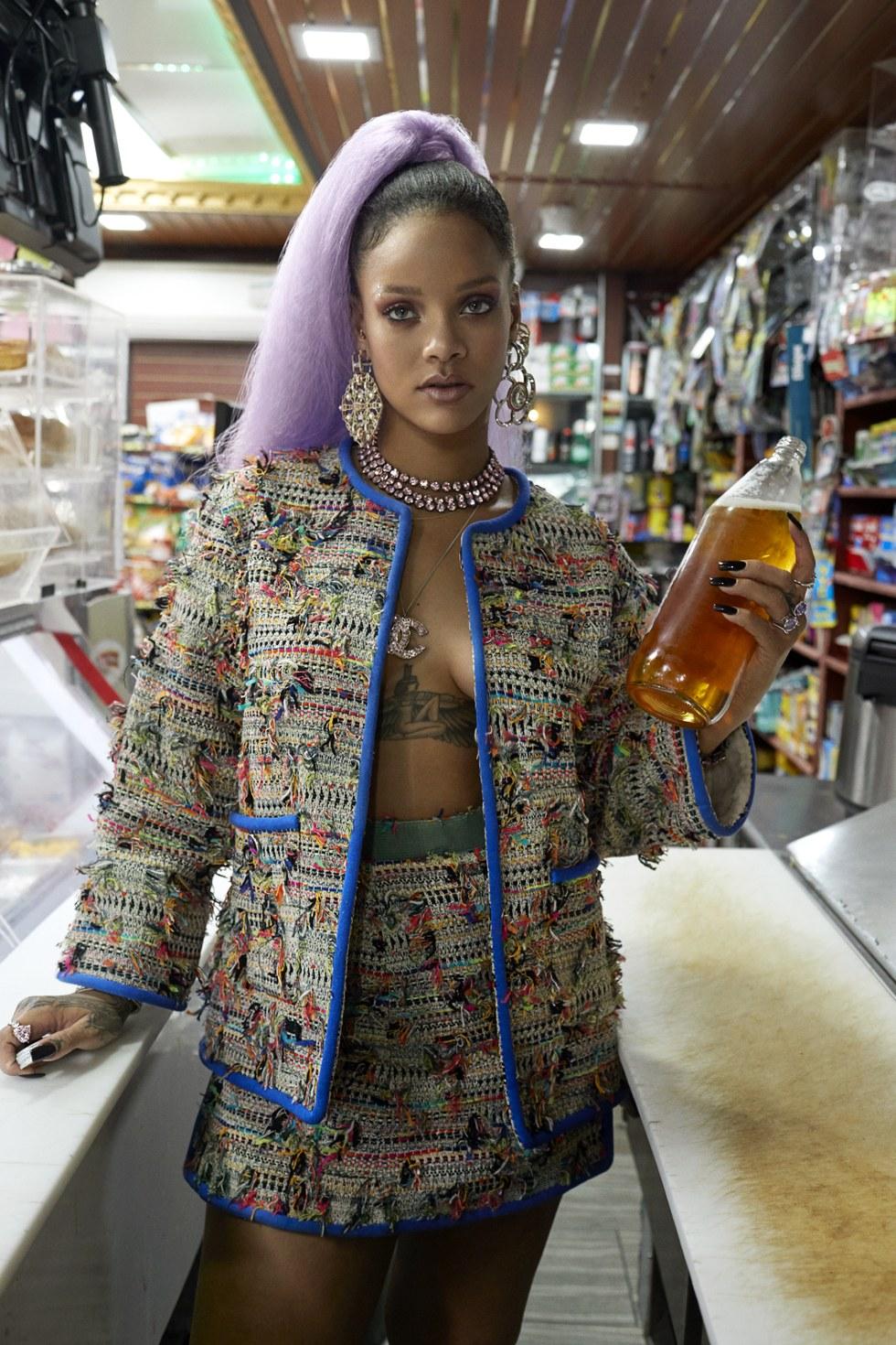 Rihanna By Sebastian Faena For Paper March 2017