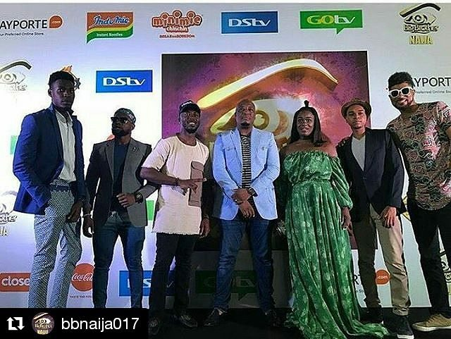 Uriel Was At The Big Brother Naija 2017 Finale 4