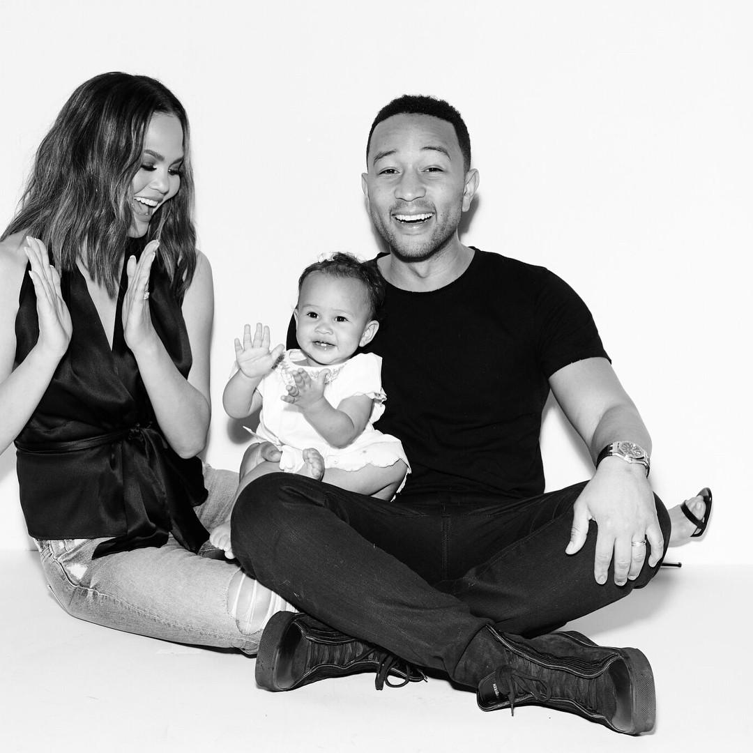 Chrissy Teigen And John Legend's Daughter Luna Enjoyed Her Birthday As She Clocked 1 - 8