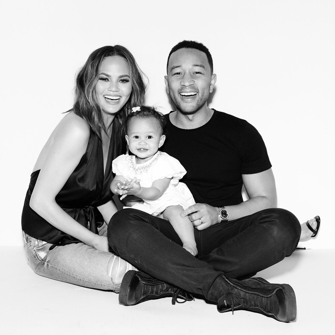 Chrissy Teigen And John Legend's Daughter Luna Enjoyed Her Birthday As She Clocked 1 - 5