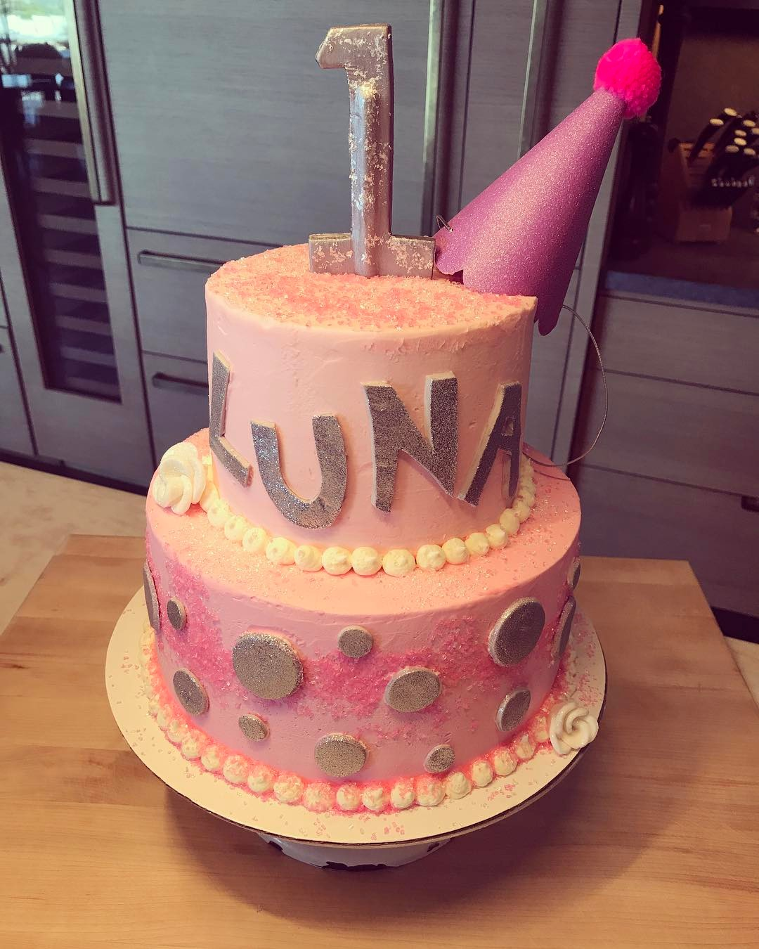 Chrissy Teigen And John Legend's Daughter Luna Enjoyed Her Birthday As She Clocked 1 - 1
