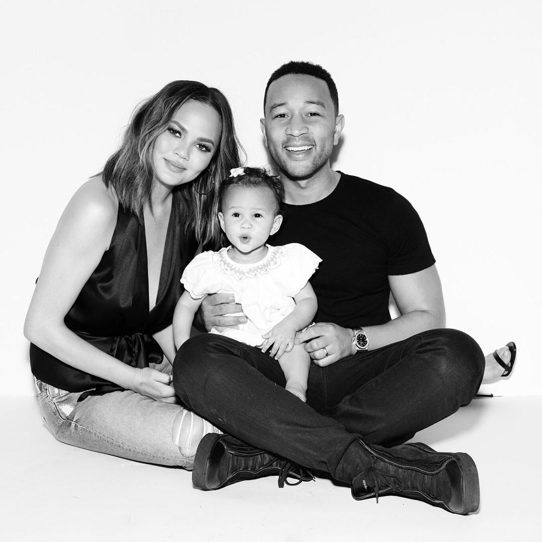 Chrissy Teigen And John Legend's Daughter Luna Enjoyed Her Birthday As She Clocked 1 - 6