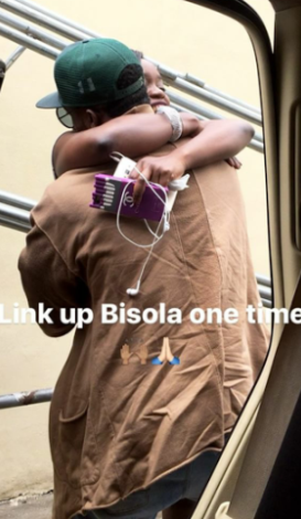 Bisola And Iyanya Have Reunited 9 Years After 1