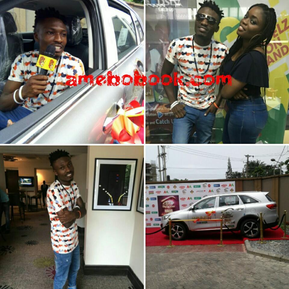 Big Brother Naija 2017 Winner Efe Has Received His SUV