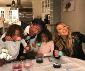 Mariah Carey And Nick Cannon Reunite For Easter Fun With DEM KIDS