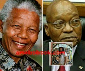 Gay Sex Painting Of Nelson Mandela And Jacob Zuma