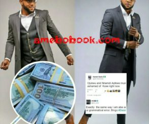Between Nigerian Singer KCee And A Twitter User