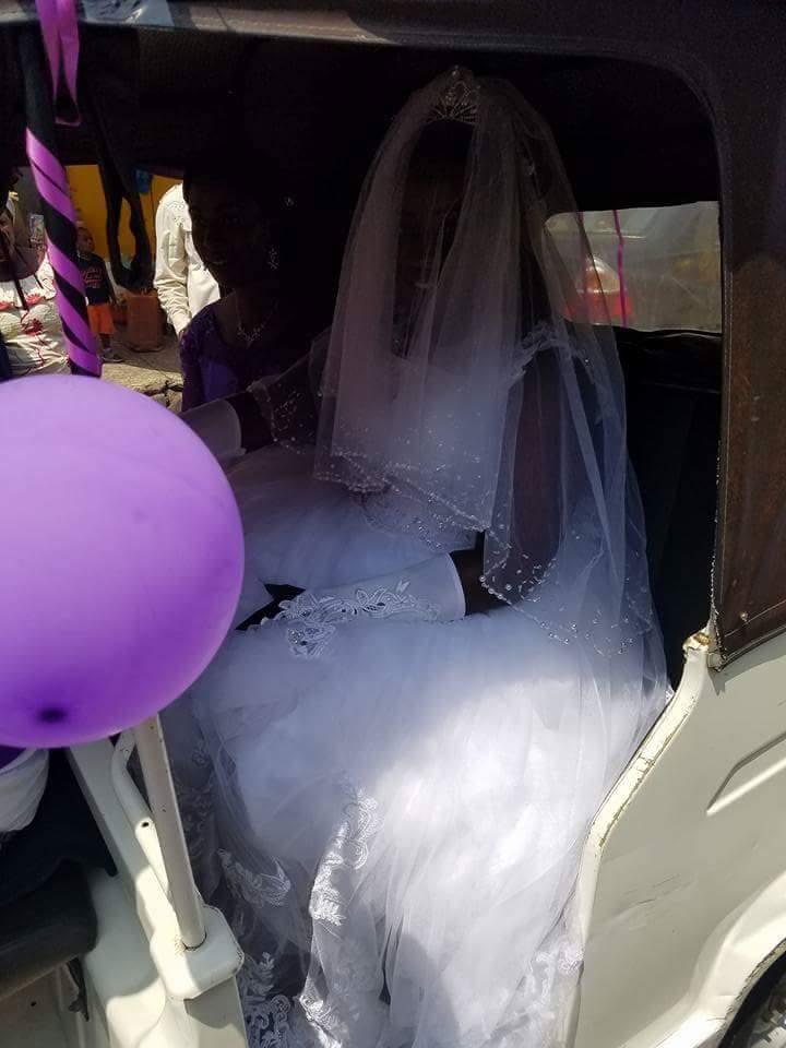 Wedding Day Photos Of A Couple In A Convoy Of Keke Napeps 3