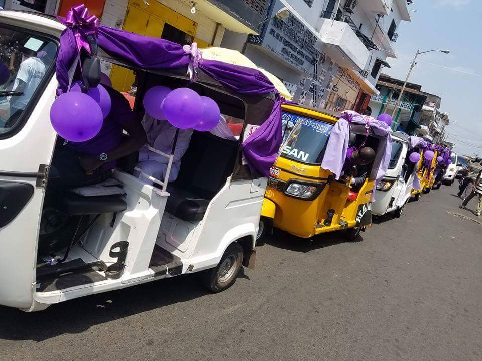 Wedding Day Photos Of A Couple In A Convoy Of Keke Napeps 5