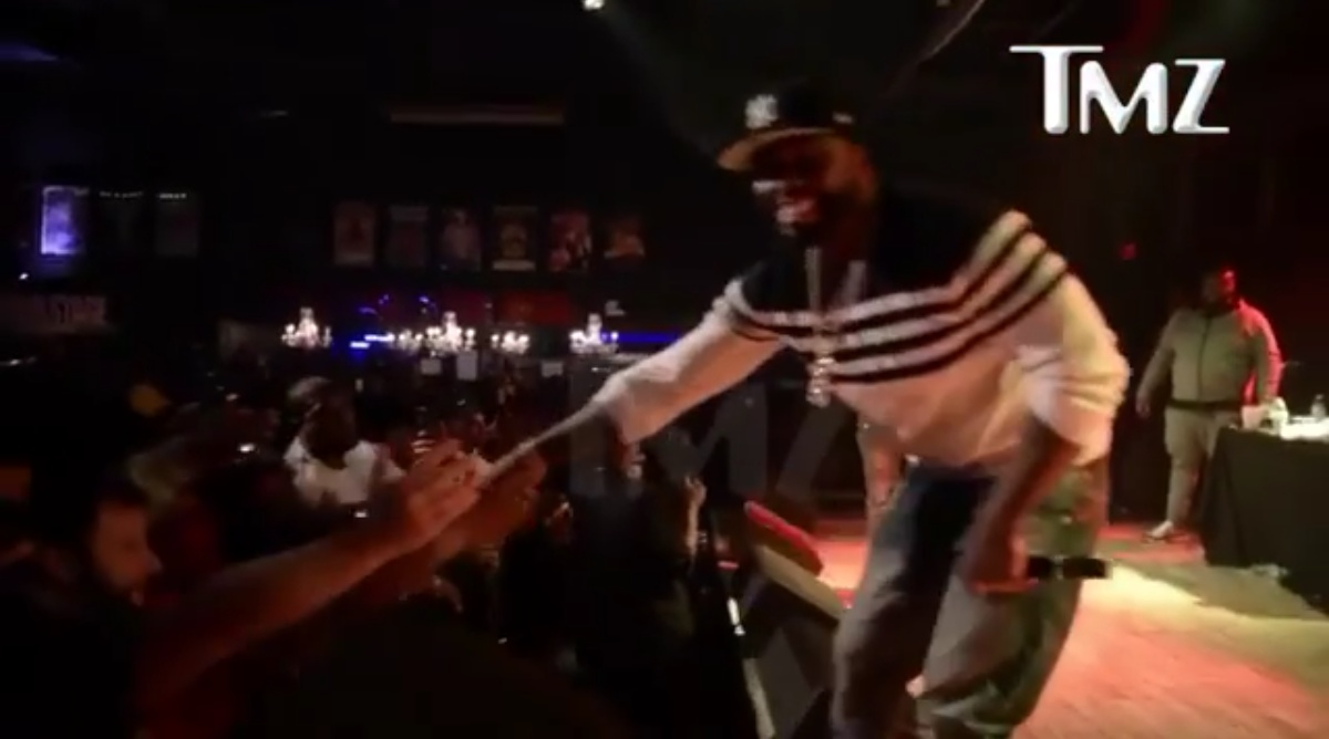 50 Cent Has Been Caught On Video PUNCHING A Female Fan In The Chest During Gig In Baltimore 1
