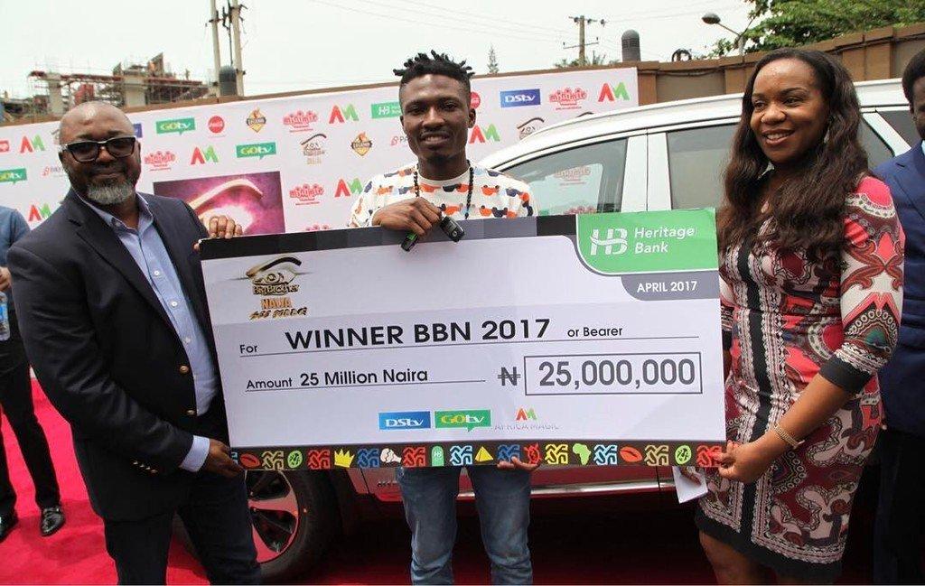 Big Brother Naija 2017 Winner Efe Has Received His SUV 1