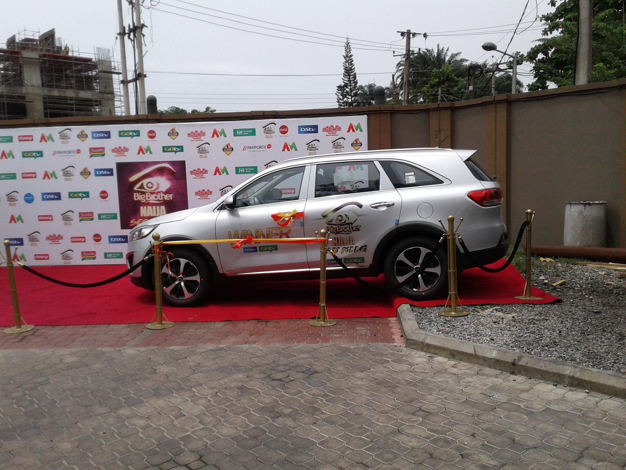 Big Brother Naija 2017 Winner Efe Has Received His SUV 6