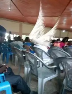 Teenager Captured Angel-like Wings On Mobile Phone During Easter Convention In Ghana 2