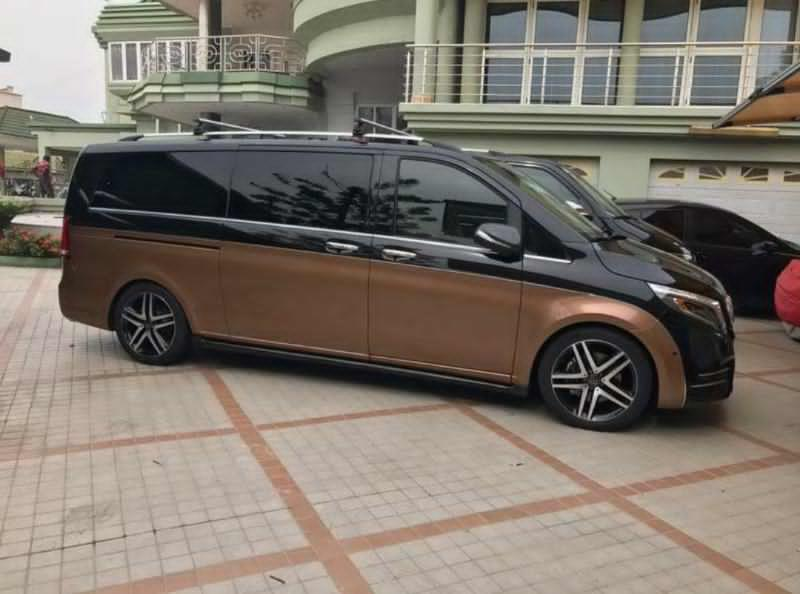 CEO of Despite Group of Companies New Luxurious Brabus Vehicle 3