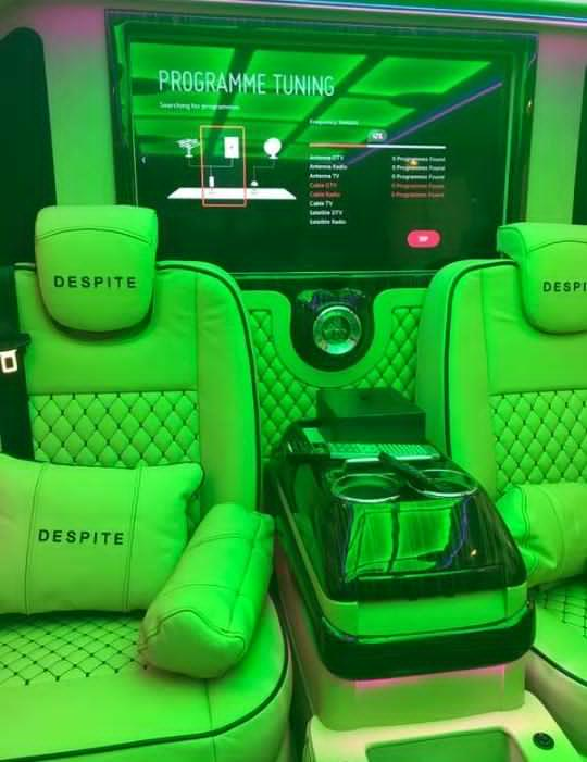 CEO of Despite Group of Companies New Luxurious Brabus Vehicle 6