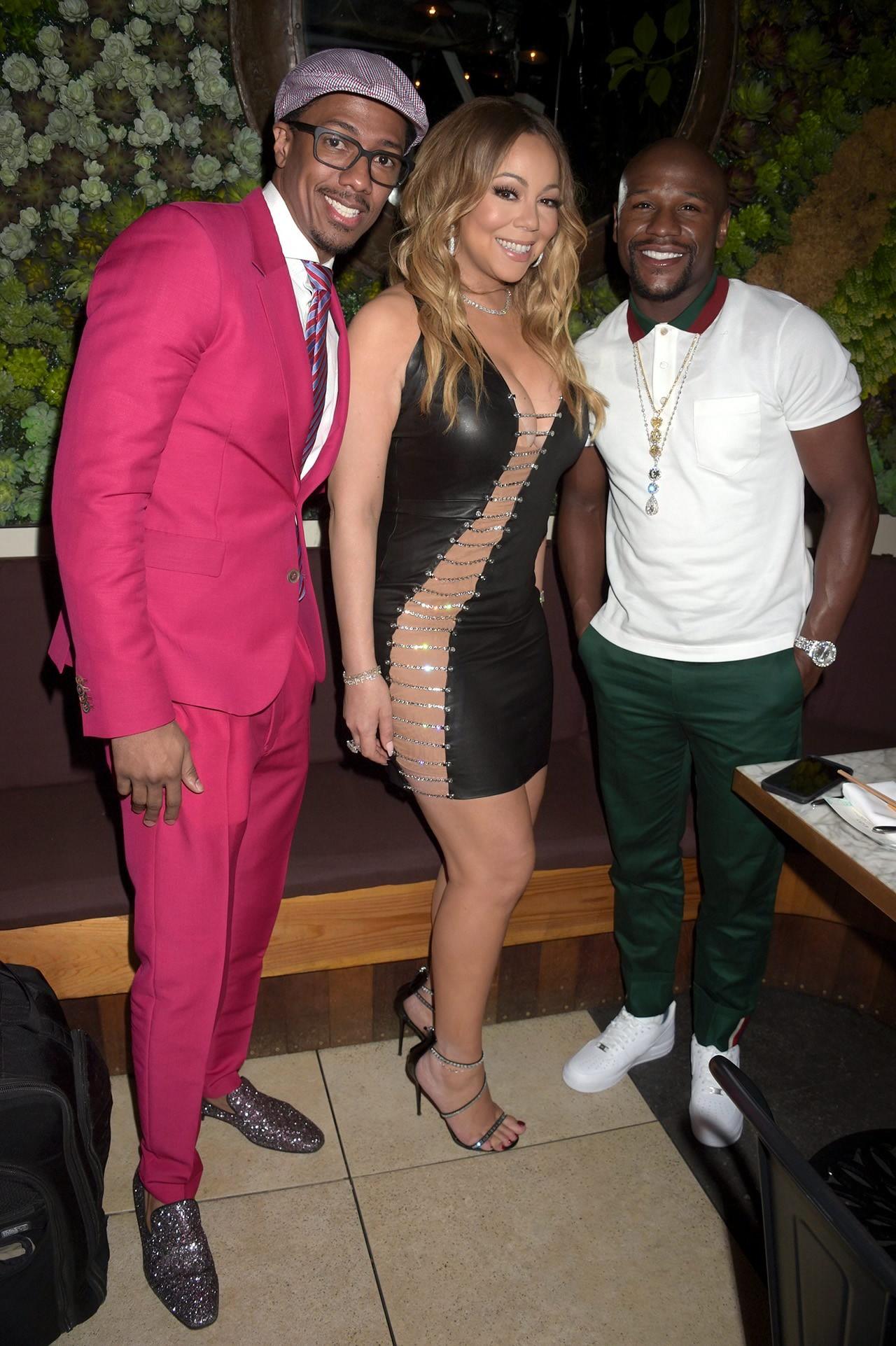 Mariah Carey Stuns In Bryan Hearns Cutout LBD 2