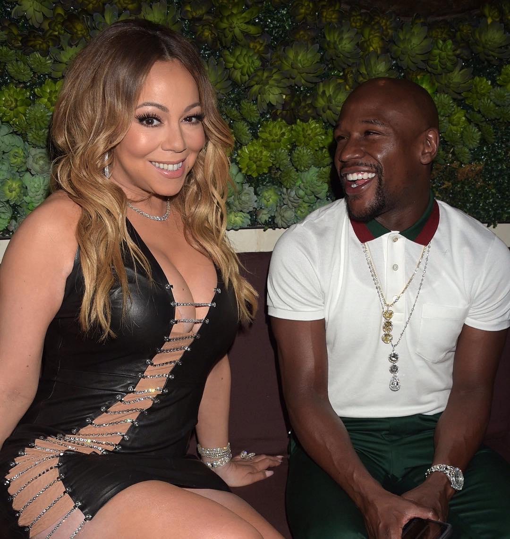 Mariah Carey Stuns In Bryan Hearns Cutout LBD 3