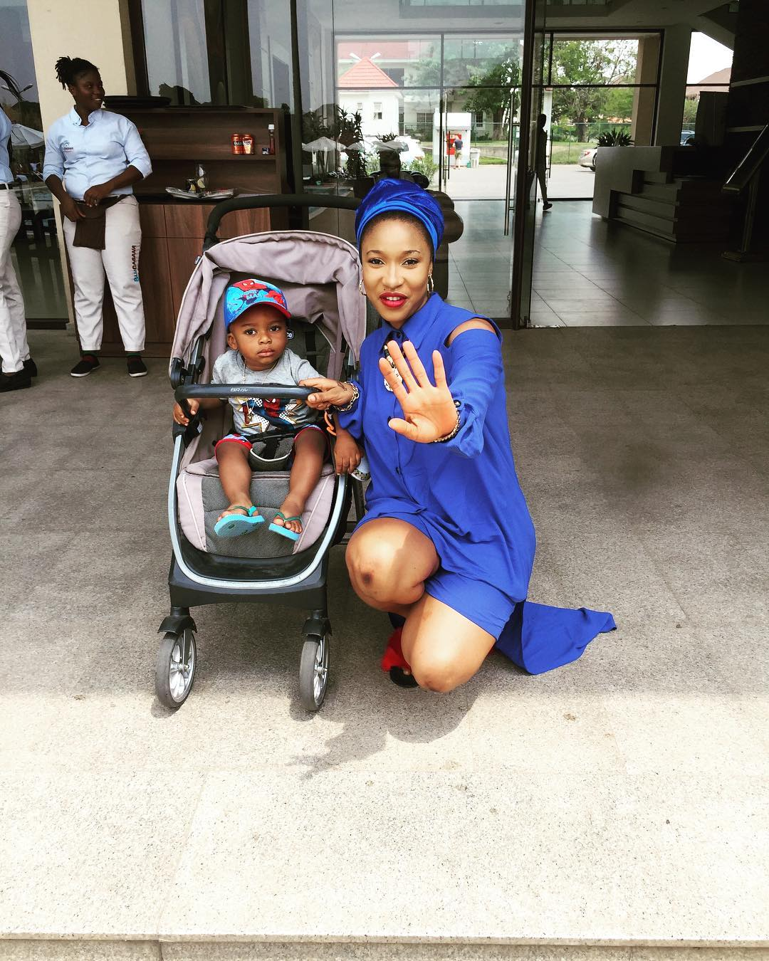 Tonto Dikeh And Son King Andre 2