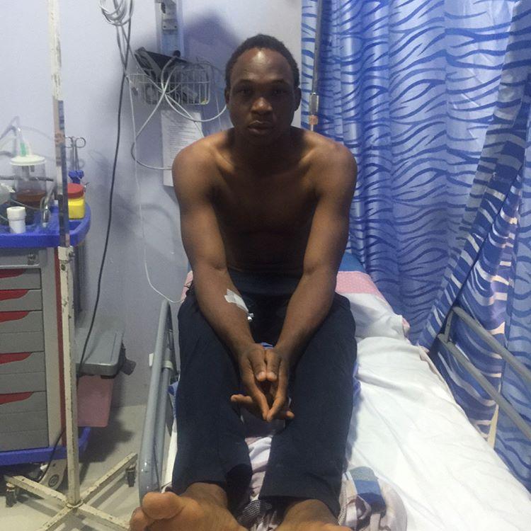 Man Tonto Dikeh Saw Being Thrown Out Of Speeding Keke Napep Has Narrated His Ordeal 1