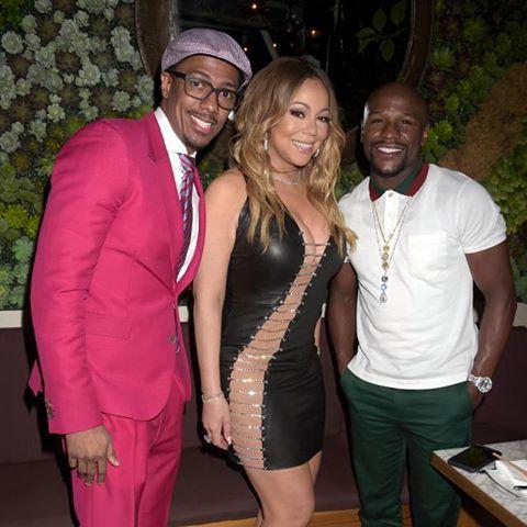 Mariah Carey Stuns In Bryan Hearns Cutout LBD 4