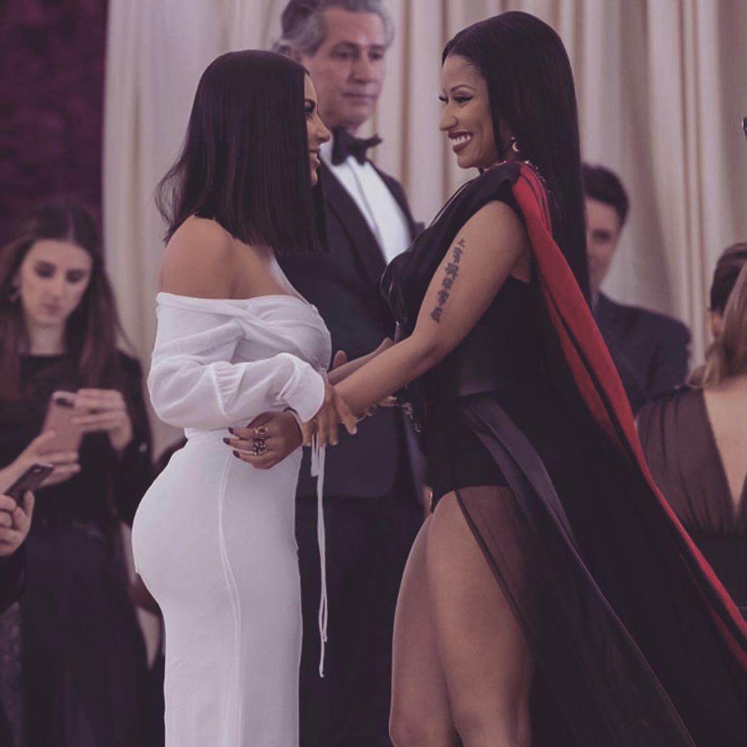 Nicki Minaj Met Up With Kim Kardashian At 2017 Met Gala 1