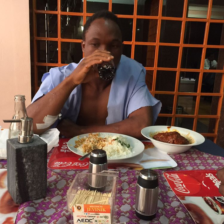 Man Tonto Dikeh Saw Being Thrown Out Of Speeding Keke Napep Has Narrated His Ordeal 3