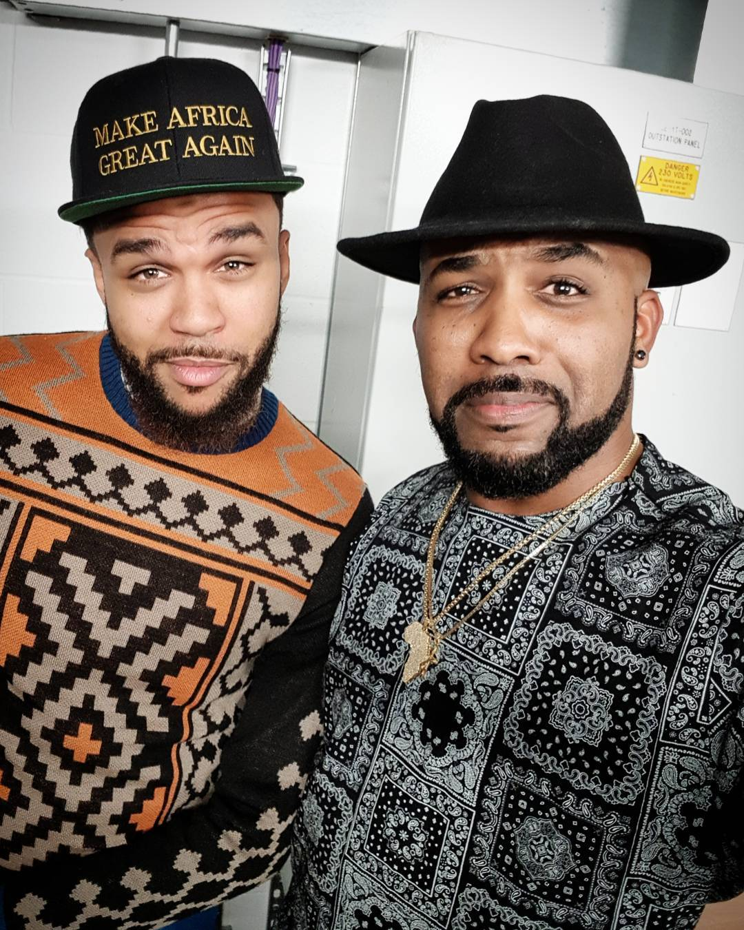 Banky W And Jidenna Pictured In New Photo 2