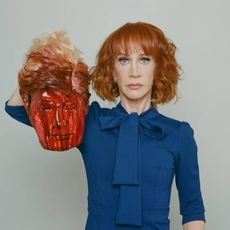 Kathy Griffin Beheads Donald Trump Photo
