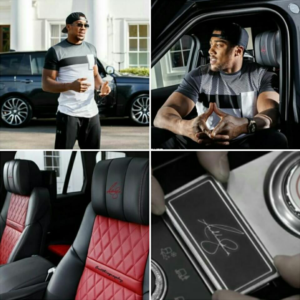 Anthony Joshua's Epic New £150k Range Rover With Diamonds Stitched Into Seats