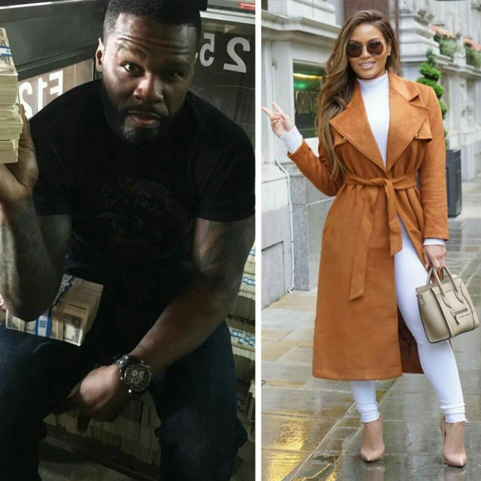 50 Cent Can't Get His Eyes Off Ex-Bae Daphne Joy's Bikini Photos