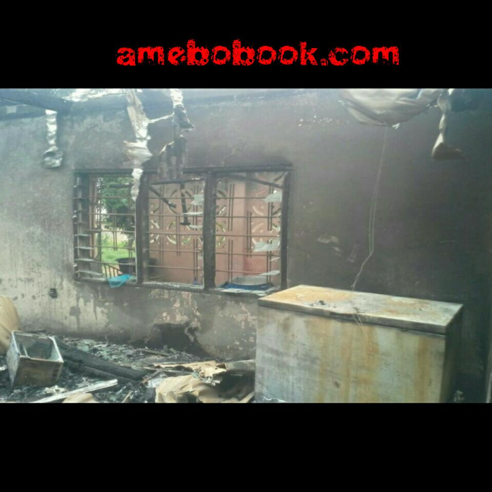 20-Year-Old Ghanaian Girl Priscilla Berfi Has Set Her Boyfriend's House Ablaze For Cheating On Her In Ashanti Region