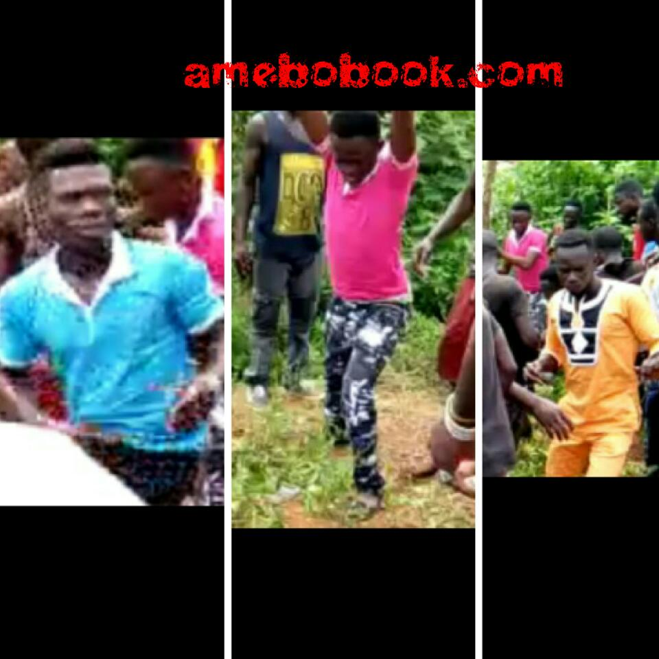 Faces Of PRIME SUSPECTS In The Lynching To Death Of Captain Maxwell Mahama