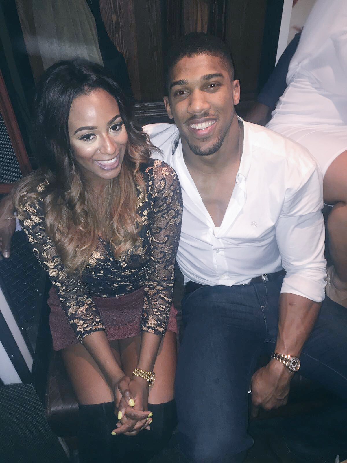 DJ Cuppy Posted A Photo With Anthony Joshua But Twitter Hilariously Roasts Her 2