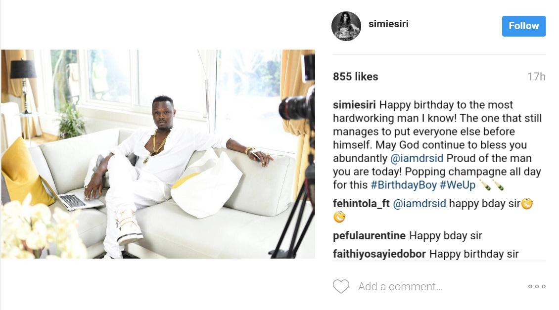 Simi Esiri Celebrates Her Singer Husband Dr Sid On His Birthday 1